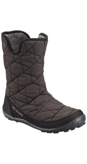 Columbia Minx Slip Boots Youth WP Omni-HEAT black/glamour